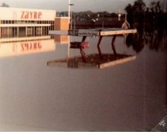 Flood of 1980 in Cambridge, Ohio when I worked at NCR