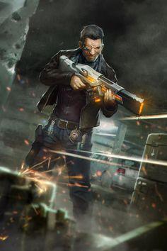 fuck yeah cyberpunk — Shadow Trader by Duelisto