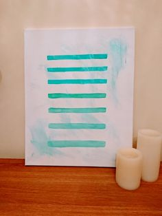 Handmade Abstract Painting by ChloeLouiseCreates on Etsy
