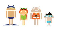 Google Android on Behance