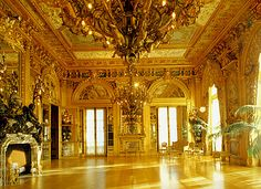 Image detail for -Marble House - The Ballroom ou the Gold room ...