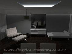 Sala ampla e elegante de estar e jantar. http://dicasdearquitetura.com.br/sala-ampla-de-estar-e-jantar/