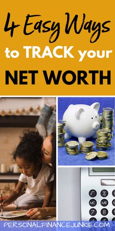 Discover four easy ways to track your net worth in this easy to read article. Earn More Money, Ways To Save Money, Money Tips, Financial Information, Financial Tips, Investing Money, Saving Money, Personal Finance Articles, Finance Books