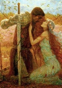 tristan and isolde painting - Google Search