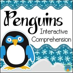 All About Penguins Interactive Reading Activity