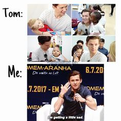 Tom Holland A.A my new British crush. Dc Memes, Funny Memes, Hilarious, Funny Tweets, Marvel Jokes, Marvel Funny, Marvel Avengers, Parker Spiderman, Spiderman Cast