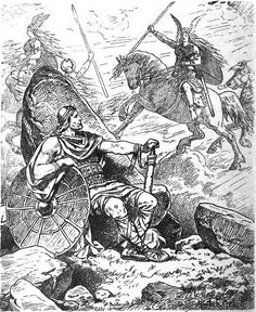 """"""" VALKYRIE In Norse mythology, a valkyrie (from Old Norse valkyrja """"chooser of the slain"""") is one of a host of female figures who decide who dies and wins in battle. Selecting among half of. Fantasy Warrior, Fantasy Art, Medieval, Nordic Vikings, Old Norse, Asatru, Viking Warrior, Norse Mythology, Fantasy Inspiration"""