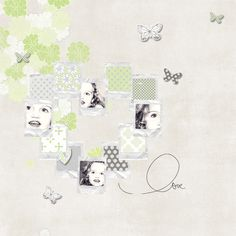 ☆☆☆ Credits ☆☆☆ Par Franny photo du 17 janvier 2013 scraplift d'une page de Margje ☆Lime You Lots | Kit de Karla Dudley