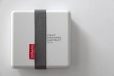 Lunch box by Borja García Studio for Omami