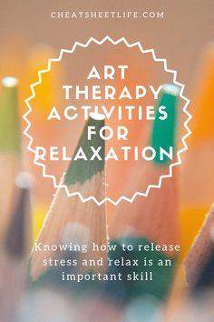 Exercise Activities, Art Therapy Activities, Stress And Mental Health, Stress And Anxiety, Art Therapy Projects, Therapy Ideas, Stress Exercises, Recreational Therapy, Sensory Disorder