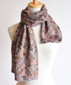 Sophie Digard crochet scarf - One Day I'm going to buy one her scarves since I don't have the patience to make one!