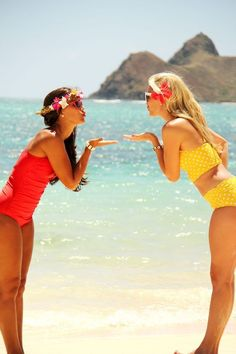 We heart it images, cute friends, sister beach pictures, beach pics, bff