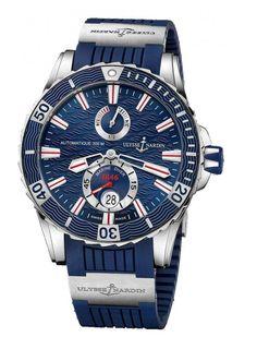 d48cb8eea Ulysse Nardin 263-10-3/93 Maxi Marine Diver Marine Diver Steel. Original  Watches