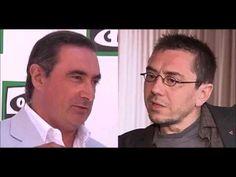 """Carlos Herrera llama """"cretino"""" a Juan Carlos Monedero PODEMOS por criticar a la COPE"""