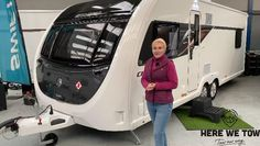 Want to have a full look around this caravan (RV or Trailer), the twin axle 8ft wide mid wasroom offering from Swift might be just what your looking for. Caravan Reviews, Rv Bathroom, Rv Interior, Rv Hacks, Rv Living, Swift, Youtubers, Camper Interior