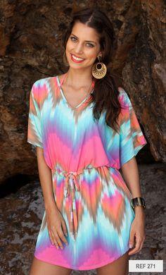 3113af10421e Coleção Verão 2015 - 271 Blusas Festa, Vestidos Festa, Saia De Praia, Coisas