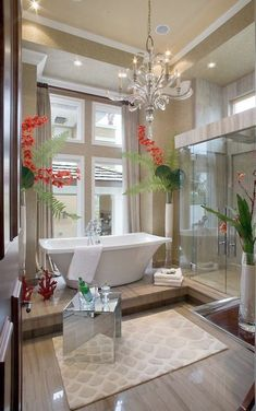luxury bathrooms are not beyond reach for today's homeowners...