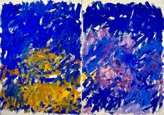 Row, Row. Joan Mitchell, 1982. Oil on canvas (diptych). Collection of the Joan Mitchell Foundation, NY.