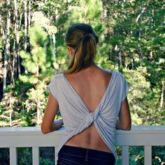 41 Maneras fáciles de transformar tus camisetas