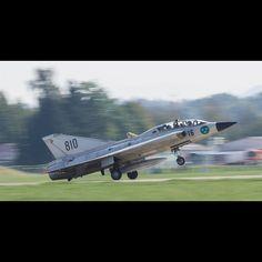 SAAB Draken  #Saab #Draken #Sweden #Swedish #airforce