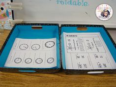 Blog Post on how to organize math stations and what common core materials to use - third grade