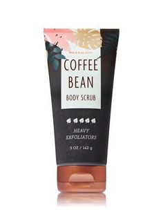 Coffee Bean Body Scrub - Bath And Body Works $14.50 each or Mix & Match: Buy 3, Get 3 Free or Buy 2, Get 1 Free #DiyBodyScrub #CelluliteScrub