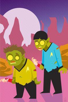 Trek Zombies by daneault on deviantART