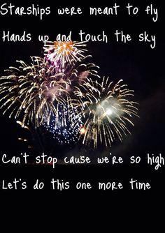 Nicki Minaj  Starships Song lyrics #HandsUp Jeri fain McDonough