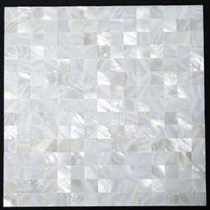 Mother of pearl tile backsplash - Kitchens Forum - GardenWeb  Groutless