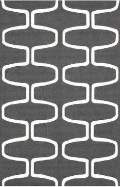 Rugs USA Trellis charcoal Area Rug