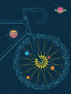 Allan Peters has selected the top ten poster designs. Now, cast your vote for the Reader's Choice Award winner for the Annual Poster Design Awards. Illustration Tumblr, Bike Illustration, Photo Velo, Bike Poster, Bicycle Art, Cycling Art, Cycling News, Road Cycling, Bike Design
