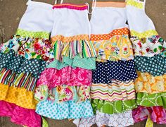 cute aprons to make..