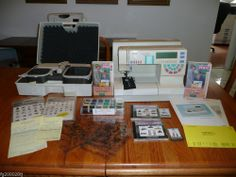 Pfaff Creative 7570 Computerized Sewing & Embroidery Machine with Extras