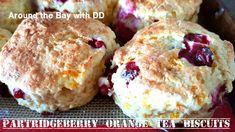 A delicate Berry (partridgeberry,blueberry or cranberry) Tea Biscuit that is very moist and melts in your mouth! Time to stock the freezer with Yummy Treats! The holiday… Baking Recipes, Cookie Recipes, Scone Recipes, Muffin Recipes, Bread Recipes, Newfoundland Recipes, Newfoundland Canada, Cranberry Tea, Yummy Treats