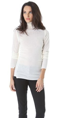 A.L.C. Nilson Sweater White from http://stylegethq.com/?p=2779