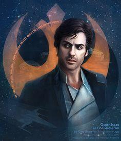 Poe Dameron | Star Wars: The Last Jedi | #oscarisaac #poedameron #starwars #starwarsart #starwarsfanart #thelastjedi #firstorder #resistance