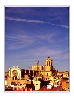 Tarragona skyline, Spain