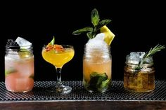 Shrubs: refreshing summer beverages. Interesting article on their history and how to make your own. Recipes for Strawberry Rhubarb Shrub and Peach Ginger Shrub at end of article.