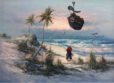 Hilarious Thrift Store Paintings Feature Unexpected Details - My Modern Met
