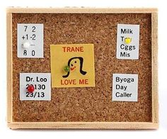 Miniature Fairy Garden Bulletin Board