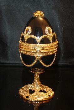 Black musical goose egg Excellance