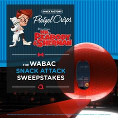Enter The WABAC Snack Attack Sweepstakes for your chance to win a FAMILY GETAWAY for 4 to Washington D.C. http://pretzelcrisps.com/peabody