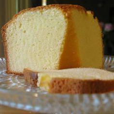 Yellow Pound Cake Allrecipes.com