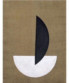 László Moholy-Nagy,Circle Segments,1921                                                                                                                                                                                 More