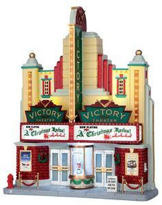 Lemax Victory Theater - 2015 Caddington Lighted Building - SKU# 55920