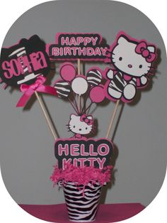 Hello Kitty Wants to Join Your Party by ThePartyGlamBoutique, $27.00