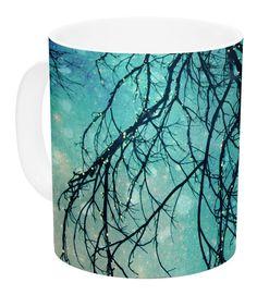 Winter Moon by Sylvia Cook 11 oz. Ceramic Coffee Mug