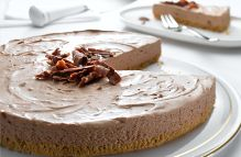 Philly's toblerone cheesecake