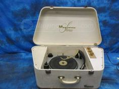 Magnavox Micromatic Portable Record Player