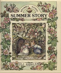 """S O L D ...""""Summer Story"""" A Book about the Mice of Brambly Hedge Including a Wedding http://www.etsy.com/shop/MoxyFoxBooks"""